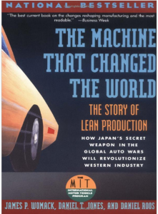 The machine that changed the world finally changes for Cover jones motor company